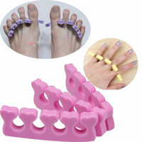 Wholesale Soft Toe Finger Separator divider EVA Nail Art care tool separate stands Manicure