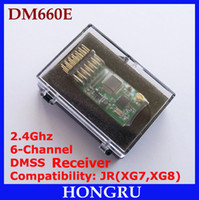 Wholesale DM660E DM6F MICROLITE CH DMSS Receiver JR XG7 Receiver JR XG8 Receiver