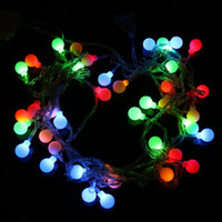 Wholesale V RGB LED String LED M Colorful Christmas Light Decoration String Lights AB2445