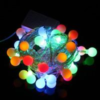 Wholesale DHL FEDEX Freeshipping V RGB LED String LED M Colorful Christmas Light Decoration String Lights