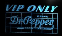 dr pepper - LA686 TM VIP Only Dr Pepper Neon Light Sign Advertising led panel