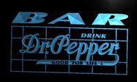 Wholesale LA687 TM BAR Dr Pepper Drink Neon Light Sign Advertising led panel