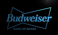 Wholesale LE009 TM Budweiser King Beer Bar Pub Club Neon Light Sign Advertising led panel