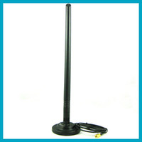 Free shipping 2. 4G 7dbi WIFI antenna RP SMA plug + Magnet Ba...