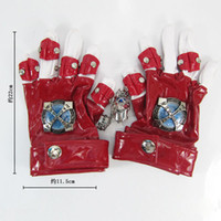 Wholesale Anime cosplay costume Katekyo Hitman Reborn Sawada Tsunayoshi red Gloves