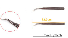 Wholesale Curve Tweezer Stainless Steel For Eyelash Extension