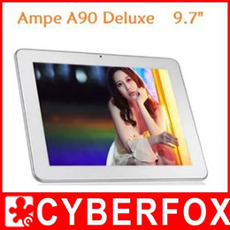 Ampe A90 Deluxe 9.7 '' IPS Android 4.0 Bluetooth Tablet PC Allwinner A10 1.5GHz Dual Camera