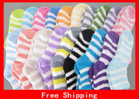 fuzzy socks - New Unisex Winter Soft Thick Warm Fuzzy Socks Home Towel Soft Thick Towel Socks Floor Carpet Socks