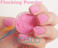 Wholesale Brand New Color D Nail Art Flocking Powder Nails Velvet Art Set Dropshipping Retail SKU D0062