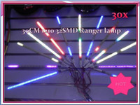 Advertisement SMD 3528 Yes Free shipping!! 30PCS 12V DC 30cm 3528 1210 32 LED Knight Rider Lights Flexible Scanning Strobe flash LED Strip Lamps