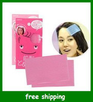 Wholesale Fashion Bangs magic paste sticker clip Ornament Magic Tape Fringe Hair Bang Patch band