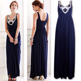 Wholesale sequins Slim Long wedding banquet dress costumes chorus serving toast the bride dress evening wear