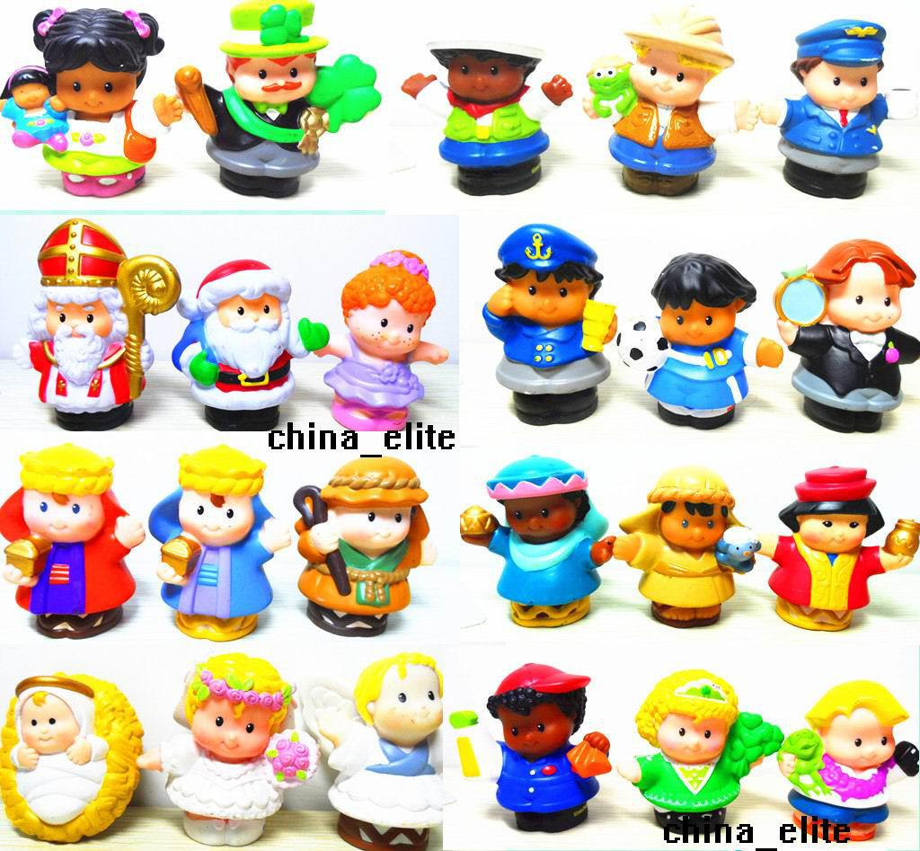 Best Little People Toys : Best styles new little people pvc figure dolls toys