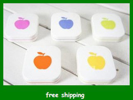 Wholesale Hot Selling Eyewear Cases Apple Contact Lenses Box Storage Set Bags Glasses gifts Fast