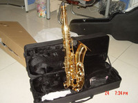 Wholesale best Newest beautiful Professional Tenor Saxophone Sax w case in stock