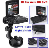 Wholesale 2 quot Color LCD LED Night Vision IR Car Auto DVR HD car dvr Audio Video Recorder Camera GA1091
