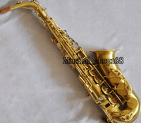 Wholesale Sand Gold Alto Saxophone reference Professional high New Alto Saxophone