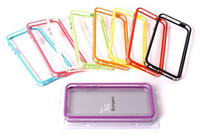 Wholesale Frame Bumper Cover case for iphone5 iphone G S protector hot selling