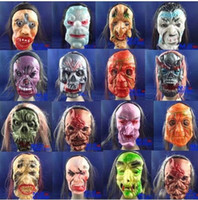 Wholesale Halloween Masks Horrible Masks Costumes accessories party supplies