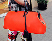 Red Women Plain Hot Sell women's personalized handbags fashion designer bags tote purse drop ship excellent quality