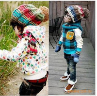 Wholesale Baby cap Knitting cap Winter warm hat Knitted hat Multicolor baby cap Fashion cap