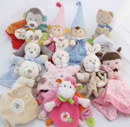 Wholesale Christmas Sale Nicotoy Bunny Baby Security Blanket Comfort Comforter Gift Baby Toys