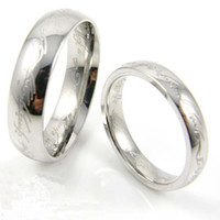Wholesale 10pcs Lord of the Rings Lord of the Rings tungsten rings men amp women ring size