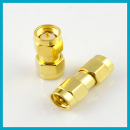 Wholesale RF coaxial adapter SMA male to RP SMA plug female pin connector adaptor