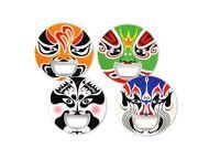 Stainless Steel beijing opera - Creative Chinese Characteristics Beijing Opera Mask Bottle Opener