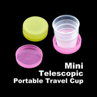 Wholesale 100 New Collapsible Water Cup Cups Folding Compact gift