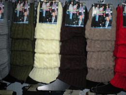 Solid Hemp flowers Dance Leg Warmers Boot Covers Tight 20 pairs lot mixed #2418