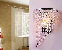 LED crystal Wall lamp chandelier 3W E14 LED Lamp 85-265V