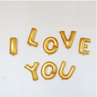 Wholesale Wholesale26 Small Letters Aluminum Membrane Balloon Party Celebration Site Decoration Arrangement