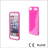 Wholesale S line TPU Gel Case Back Cover for ipod Touch Accessories XMAS