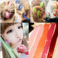 Wholesale Fashion Women Hair Wigs Accessories Hair Pieces Hair Extension Clip Girls Hair Clips Wigs