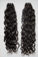 Wholesale 4Pcs Mix Length Virgin Brazilian Remy Human Hair Weave Loose Wavy Natual Hair Bulk b DHL Free