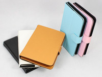 "Free DHL 50pcs PU Leather Folio Stand Case Cover for 7""..."