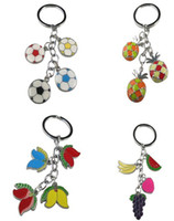 Cheap Alloy keychain Best key chain mixed colours key ring