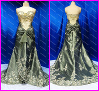 Wholesale 2016 Custom Vintage Sexy Multi Colored Shiny Beaded Sequined Taffeta Evening Dresses Celebrity Gowns