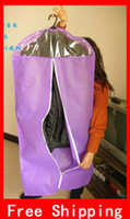 Wholesale Household Non woven Fabric Clothes Dustproof Cover Garment Cover Suit Storage Bag