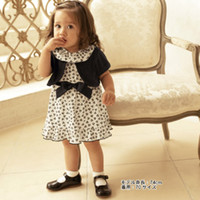 baby lint - Lady baby girl suit Black lint cardigan floral print baby dress with underpants Kids two pieces