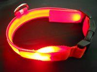 light up products - 30pcs Flashing pet collar light up pet product LED dog collar Double sided light emitting