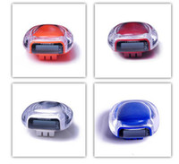 Wholesale New High Quality Mini Transparent Crystal Multifunction Pedometers Step Calorie Counter