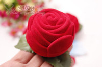 Wholesale Red Rose Favor box Wedding Favours Bomboniere Boxes Bridal Shower Party Favor