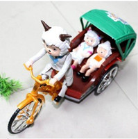 Wholesale Electric tricycle Pleasant goat electric tricycle Children s toys Children toy car