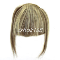Wholesale New Fashion Women s Clip In Front Inclined Bang Fringe in Women beauty