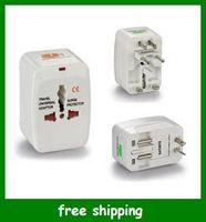 Wholesale Hot US UK AU EU TRAVEL POWER ADAPTER PLUG CONVERTER Multi function socket converter
