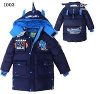 Christmas Boy 4-8 baby clothing boy's cool winter jackets outwear children boys winter down coat kids coat jackets