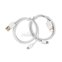 Wholesale New USB Cable Data Line Lighting Cable for iphone5 Pin USB Cable for New iPhone by