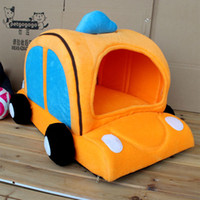 Wholesale New Fashion Kennel Cat House Taxi Car Pet Waterloo Bed